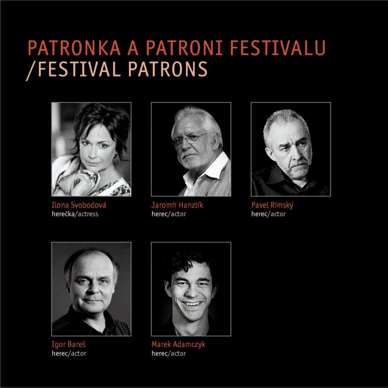 Festival patrons